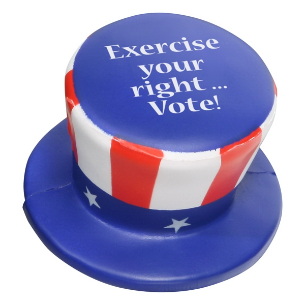 Uncle Sam Hat Shape Stress Reliever Photo