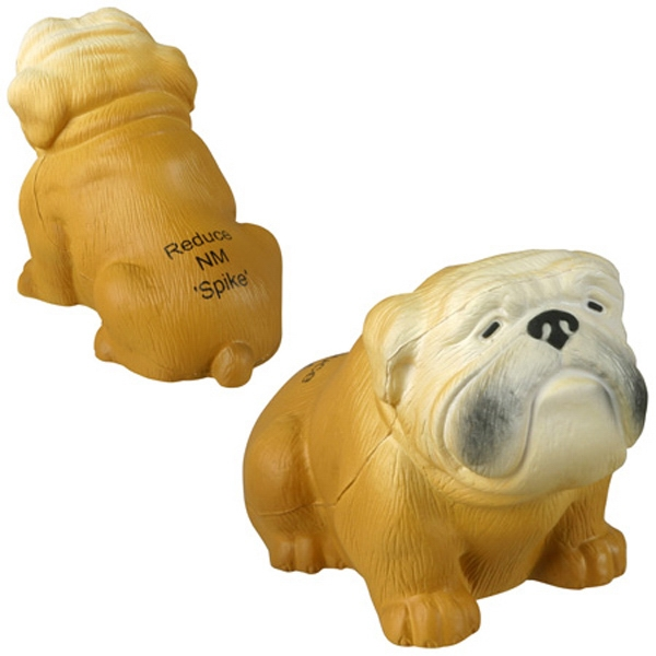 Bulldog Shape Stress Reliever Photo