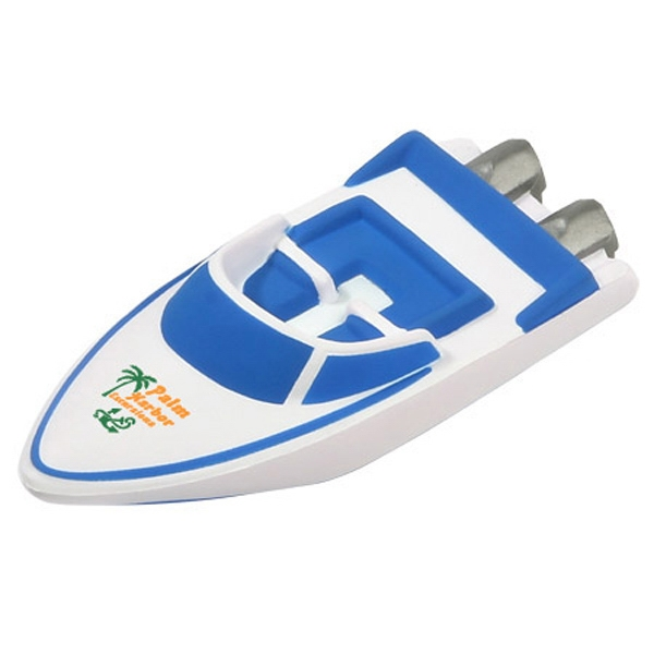 Speed Boat Shape Stress Reliever Photo