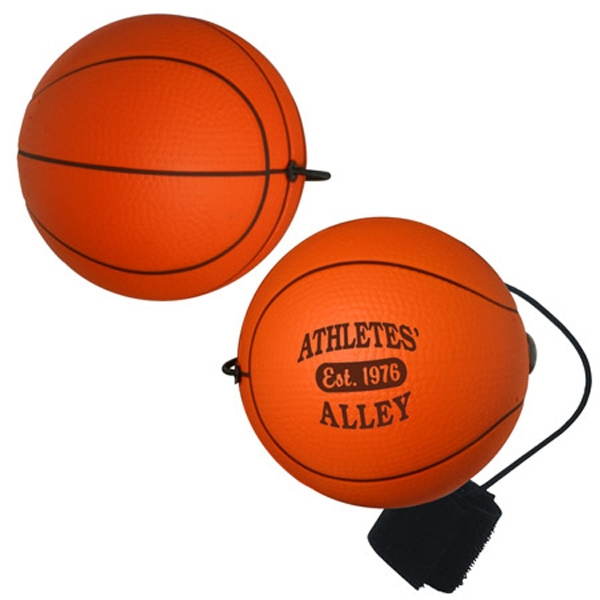 Basketball Shape Stress Reliever Yo-yo Bungee Photo