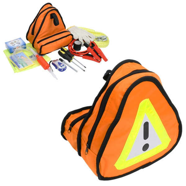 Road Rescue Car Kit With Emergency Tow Rope Photo