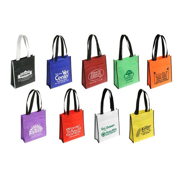 Peak - All-purpose Tote Bag With Convenient Front Pocket Photo