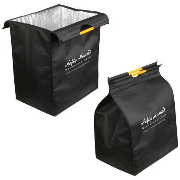 Insulated Recycled P.e.t. Shopping Bag With Reflective-lined Interior Photo