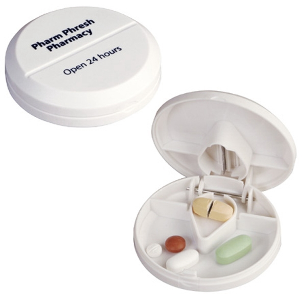 Pill Pal - Pill Box With Cutter Photo
