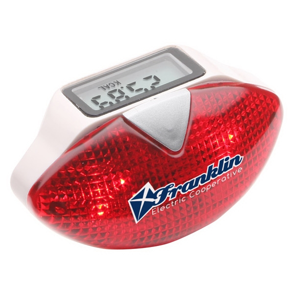 Multifunction Pedometer With Safety Light Photo
