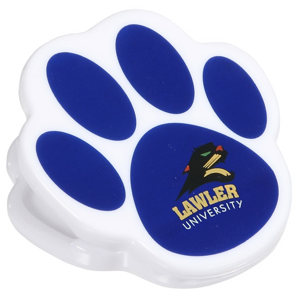 Pet Paw Power Clip With Magnet Photo