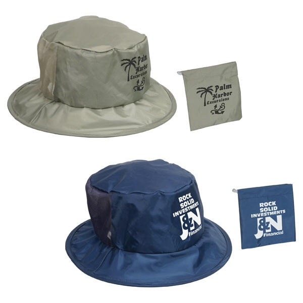 Fold N' Go - Stock Foldable Fisher Hat. While Supplies Last Photo