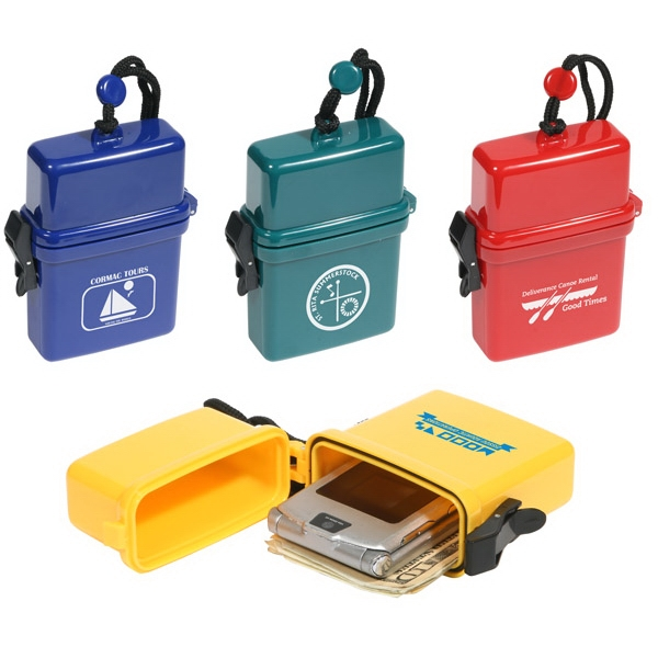Waterproof Storage Case With Rugged Lanyard Photo