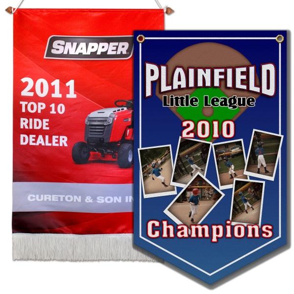 Banner, Championship, Full Color Imprint
