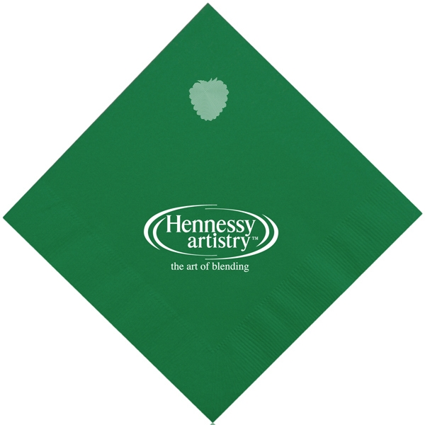 Luncheon Napkins- Green - 2-ply, luncheon napkins.