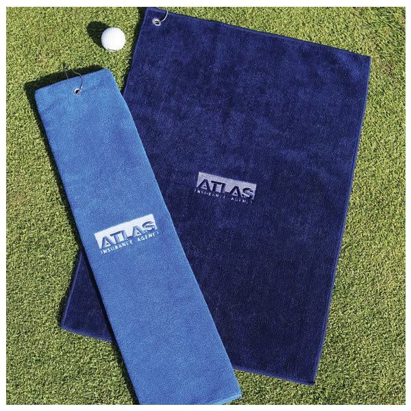 "7 Working Days - Microfiber Golf Towel, 16"" X 25"" Photo"