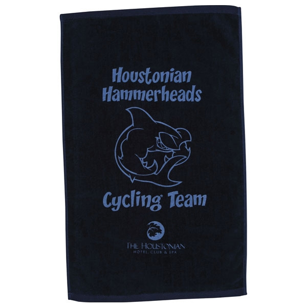 "Diamond Collection - 7 Working Days - Printed - Colored Velour Cotton Sport Towel, 16"" X 25"" Photo"