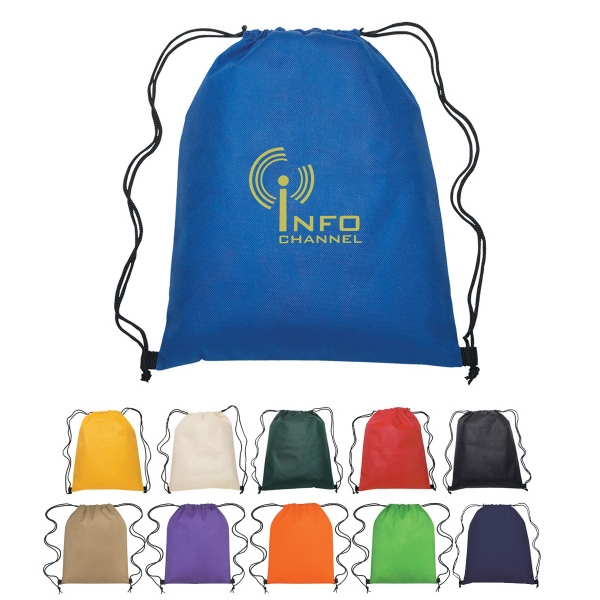 Non-woven Sports Pack With Drawstring Closure Photo