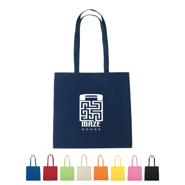 "Silkscreen - Natural Cotton Tote Bag With 30"" Handles Photo"