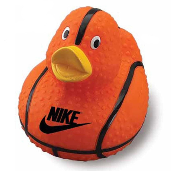Basketball Rubber Duck Photo