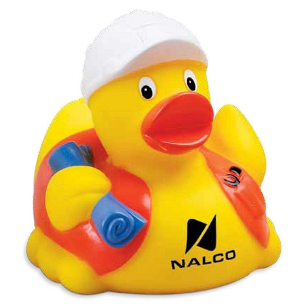 Construction Worker Rubber Duck Photo