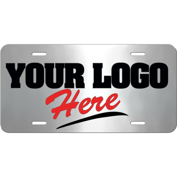 Full Color Acrylic License Plate