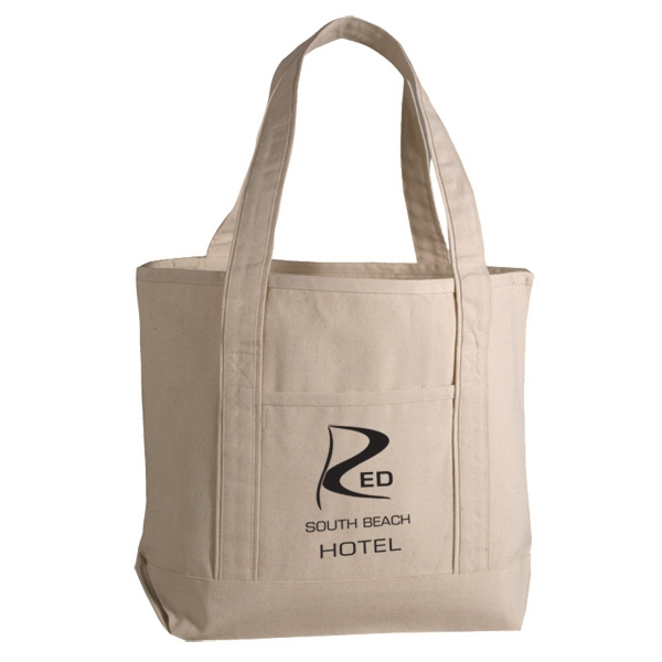 12 Oz. Cotton Canvas Tote Photo