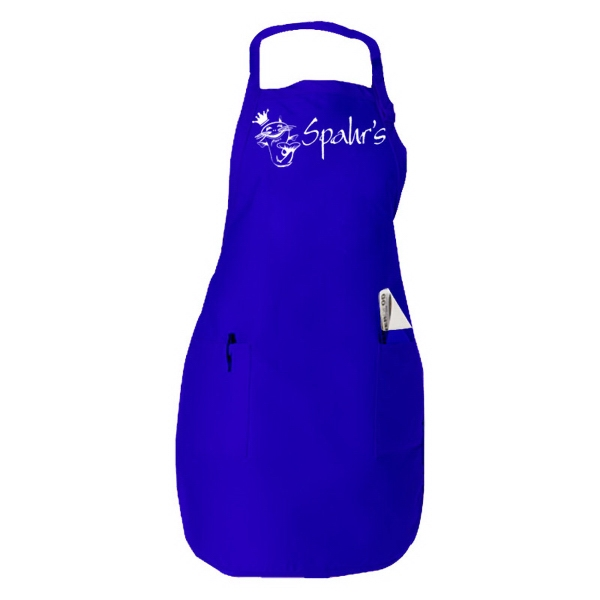 Full Length Apron With Front Pockets Photo