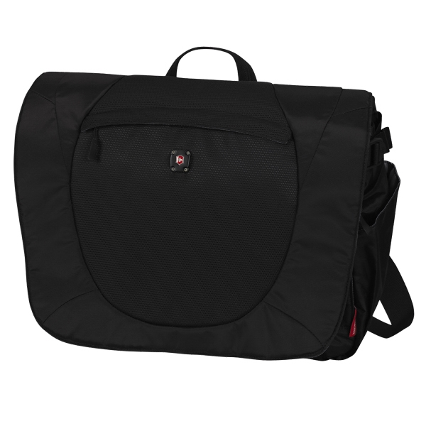 "Alpine (tm) Collection;vispa - Computer Messenger Bag With Large Main Storage Compartment. 16.5""w X 12""h X 6""d Photo"