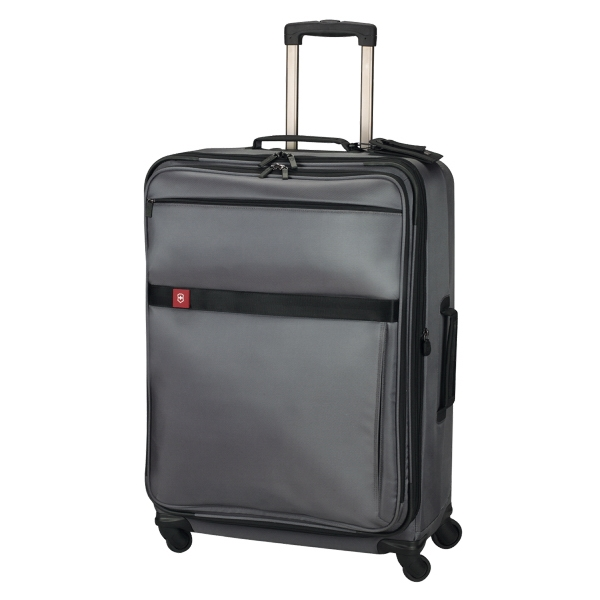 "Avolve (tm) Collection - Black - Comfort Grip, One-touch, Dual-trolley 29""/74 Cm Expandable Wheeled Upright Carry-on Photo"