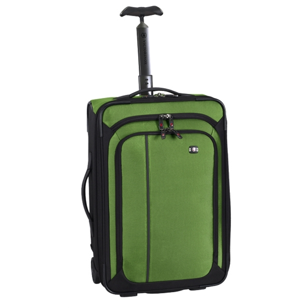 "Werks Traveler (tm) 4.0 Collection;werks Traveler (tm) Wt-20 - Emerald-black - 20""/51 Cm Wheeled Carry-on Photo"