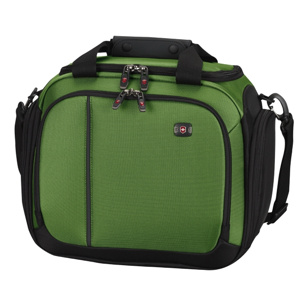 Werks Traveler (tm) 4.0 Collection;wt Tote - Emerald-black - Deluxe Travel Bag Has Zippered Opening Into Spacious Main Compartment Photo