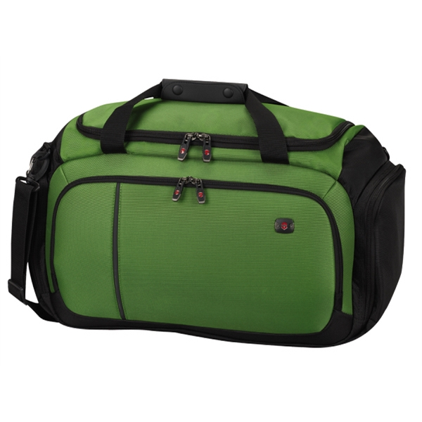 Werks Traveler (tm) 4.0 Collection - Emerald-black - Large Cargo Bag Has Zippered Opening Into Spacious Main Compartment Photo