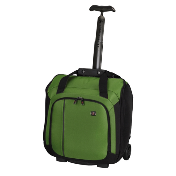 Werks Traveler (tm) 4.0 Collection - Emerald-black - Overnight Bag With Retractable Handle Photo