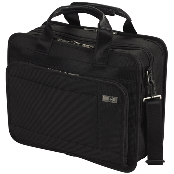 Architecture (tm) 3.0 Collection;monticello 13 - Dual Compartment Expandable Business Briefcase Photo