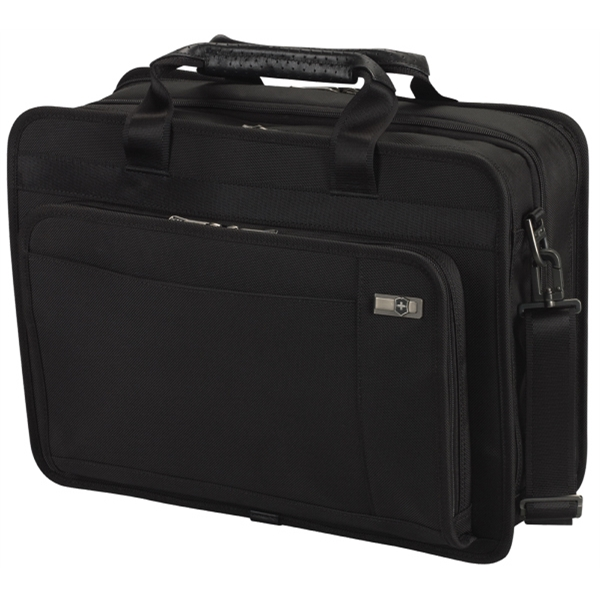 "Architecture (tm) 3.0 Collection;parliament 15 - Expandable Brief With Removable Laptop Business Sleeve Case, Expands To 10.25""d Photo"