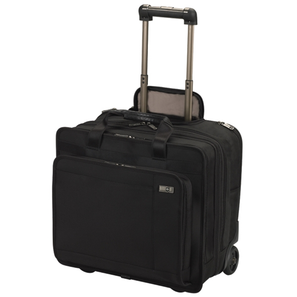 "Architecture (tm) 3.0 Collection;rolling Trevi - Expandable Wheeled Laptop 15.6""/40 Cm Case Expands To 12.75"" Photo"