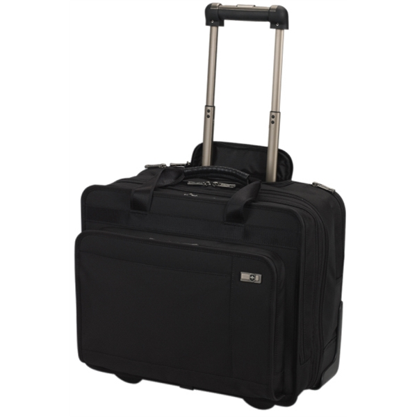 Architecture (tm) 3.0 Collection;rolling Parliament - Expandable Overnight Case With Retractable Wheels And Removable Laptop Sleeve Photo