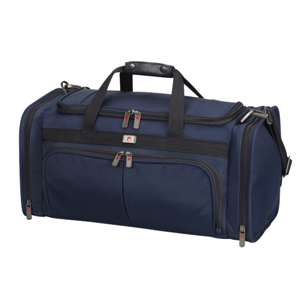 Footlocker;mobilizer N X T (r) 5.0 Collection - Navy - Zippered Opening Into Spacious Main Compartment Standard Duffel Bag Photo