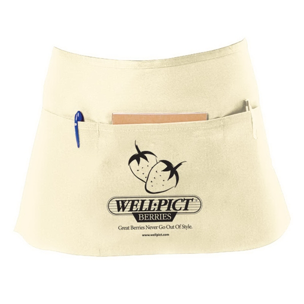 7.5 Oz. Twill Waist Apron With Pockets Photo