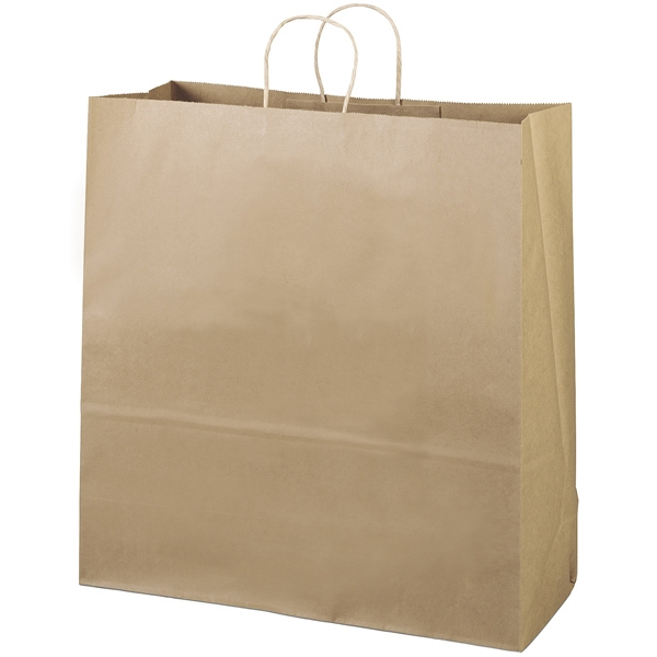Eco-duke Shopper - Brown Kraft Shopping Bag Made From 100% Recycled Paper Photo