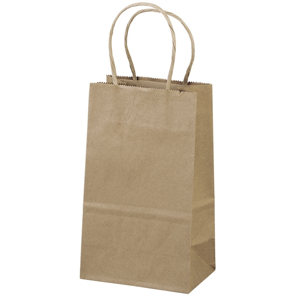 Eco-pup Shopper - Brown Kraft Shopping Bag Made From 100% Recycled Paper Photo