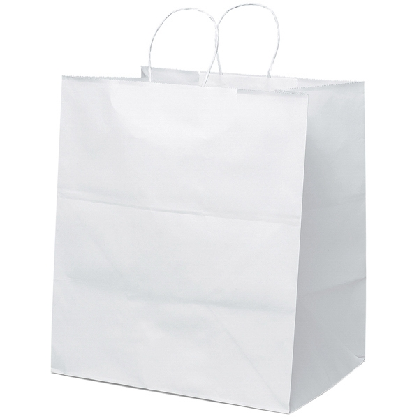 Brute Shopper - Paper Shopping Bag With Twisted Paper Handles And Serrated Cut Top Photo