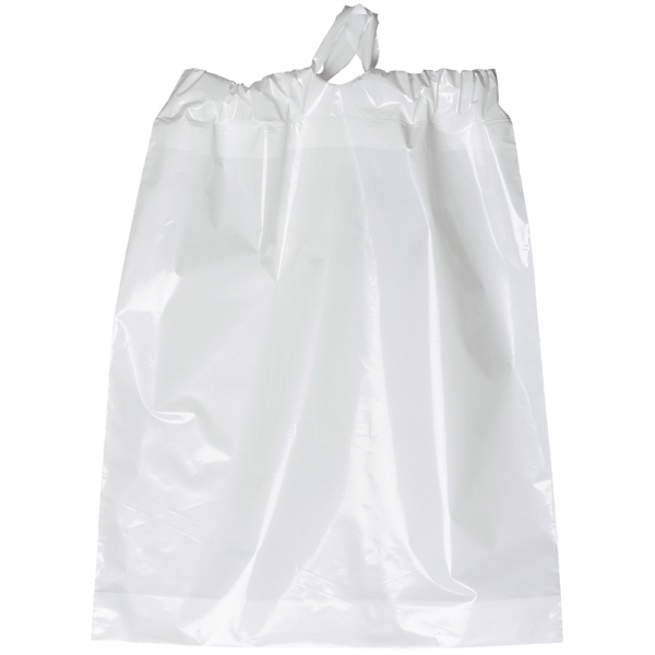 Plastic Bag With 2.5 Mil With Poly Draw Closure Photo