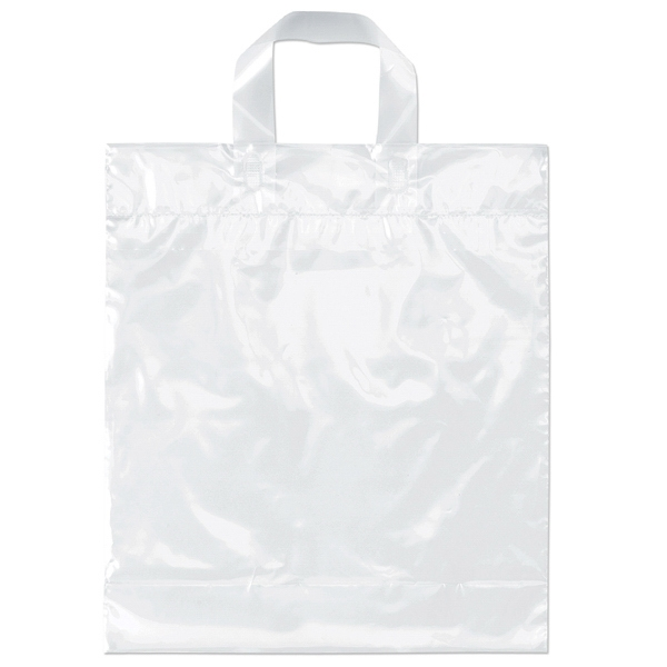 Pony - Plastic Bag With Soft Loop Handle. Recyclable, Reusable Photo