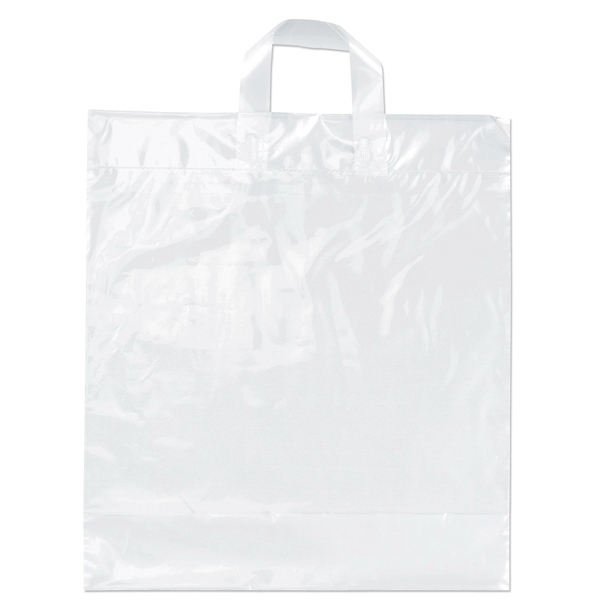 Moose - Soft Loop Handle Plastic Bag, Recyclable, Reusable Photo