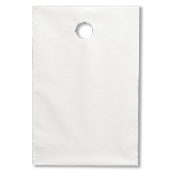 "Plastic Bag With 1 1/2"" Diameter Hole That Fits Standard Door Knobs Photo"