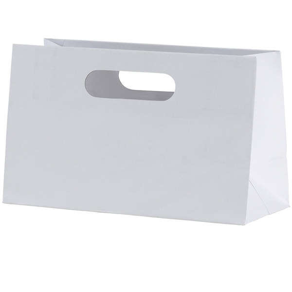 Mia Boutique Shopper - Matte Laminated Heavyweight Paper Shopping Bag With Fold-over Die Cut Handles Photo