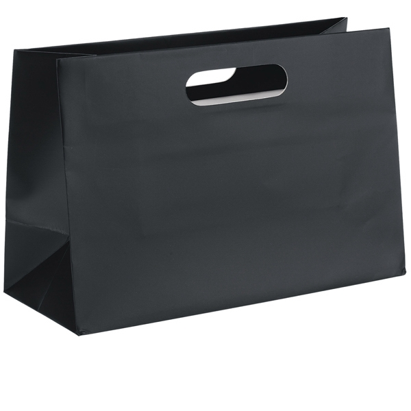 Boutique Olivia Shopper - Matte Laminated Heavyweight Paper Shopping Bag With Fold-over Die Cut Handles Photo