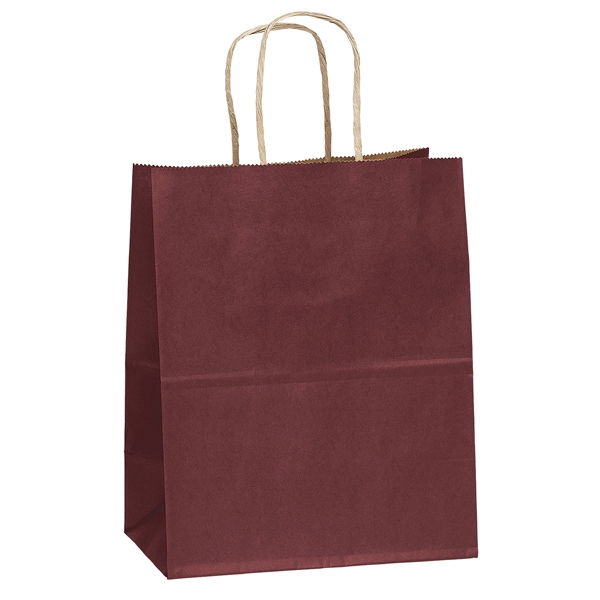 Munchkin - Matted Shopping Bag With Serrated Cut Top And Twisted Kraft Paper Handles Photo
