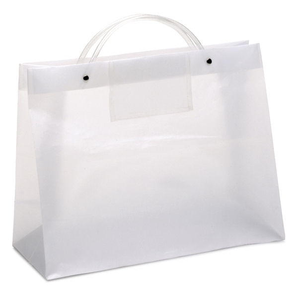 Executotes Ceo - Hi-density Frosted Plastic Bag With A Clear Card Pocket On One Side Photo