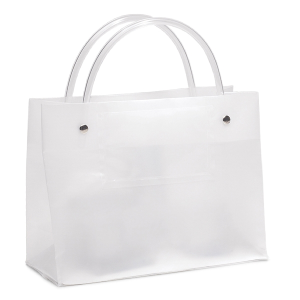 Executotes Ito - Hi-density Frosted Plastic Bag With A Clear Card Pocket On One Side Photo
