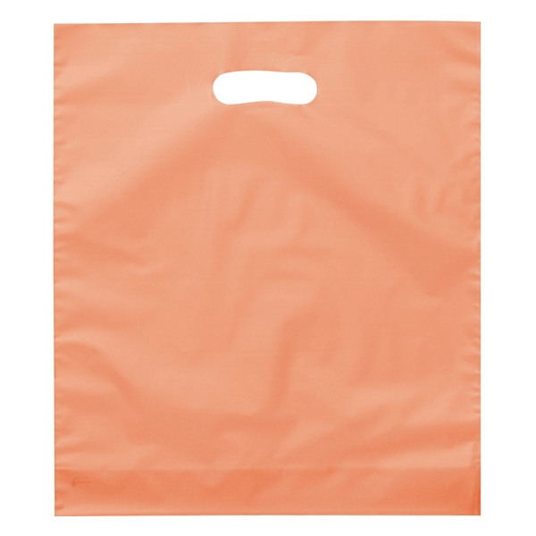 Rose Brite - Hi-density Frosted Plastic Shopping Bag With Die Cut Handles Photo