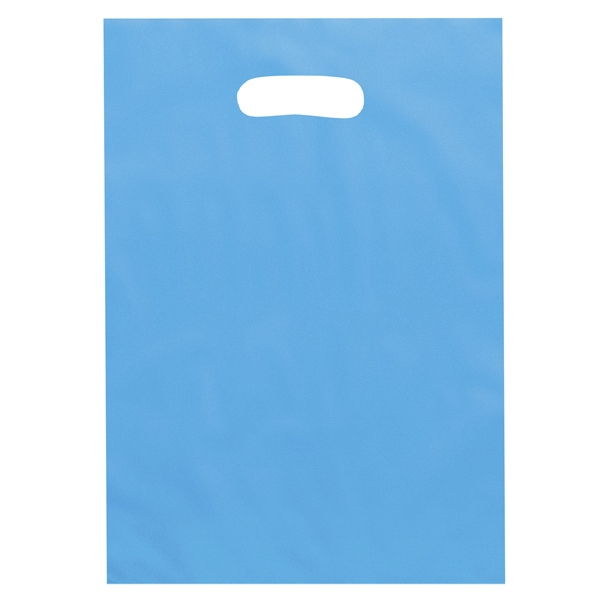 Aster Brite - Frosted Color Plastic Bags With Die Cut Handles. 2.5 Mil Thickness Photo