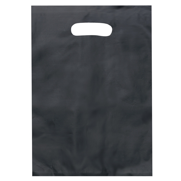 Diana Brite - Hi-density 2.5 Mil Frosted Plastic Shopping Bag With Die Cut Handles Photo